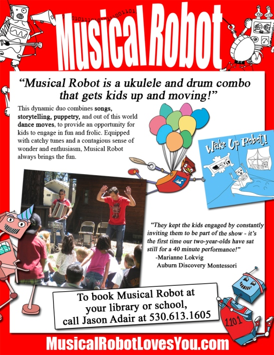 2013 Musical Robot
